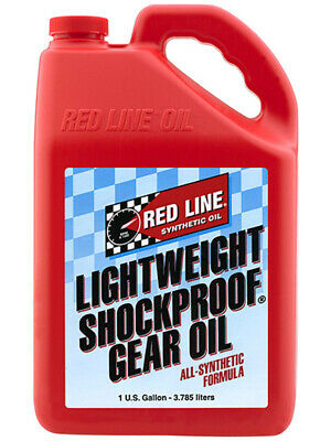 4 x Redline Lightweight ShockProof Gear Oil 3.785L (58405)