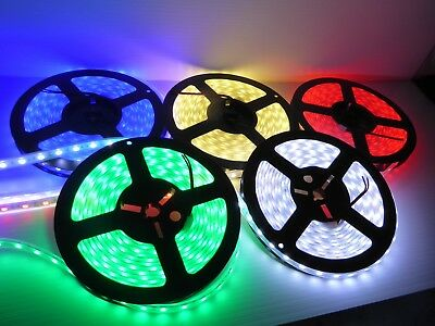 Led Light Strip 12V 5050 Ip67 5 Mtr Sellout $7 Each All Colours Don't Miss Out