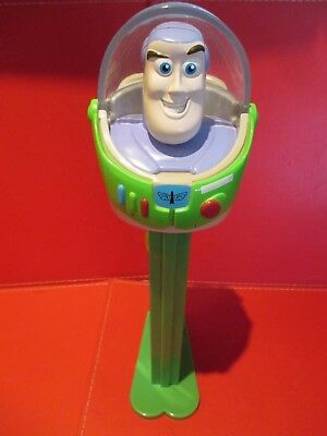Giant Pez Toy Story Buzz Lightyear Candy Dispenser - Over 30cm Tall - RARE Large
