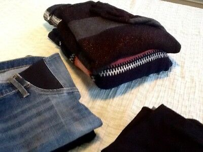 Great Deal!  Size S Maternity Clothes - 4 tops, 2 sweaters, 2 pants