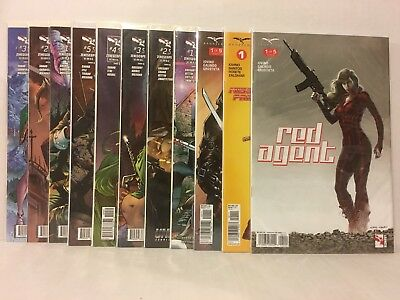 Zenoscope 11 Comic Lot/Run GFT Grimms Fairy Tales Hunters Vampires Red Agent 1