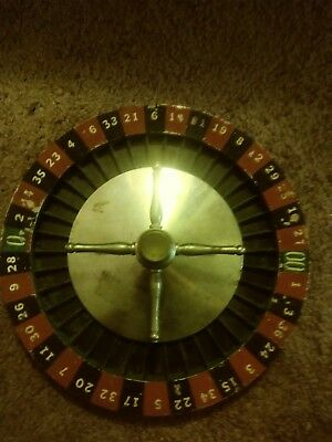 Vintage roulette wheel only