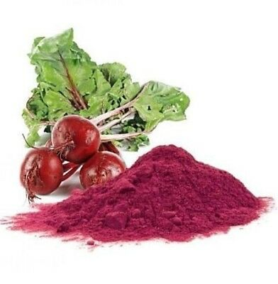 100% Organic Raw Beet Root Powder (Beta Vulgaris Rubra) Beetroot