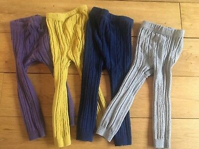 Mini Boden Cable Knit Leggings 2-3 Years
