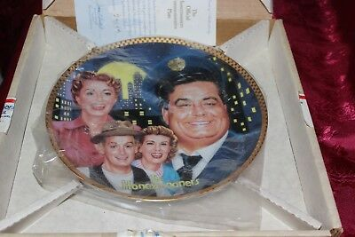 The Official Honeymooners Commemorative Plate 1992 Hamilton Collection