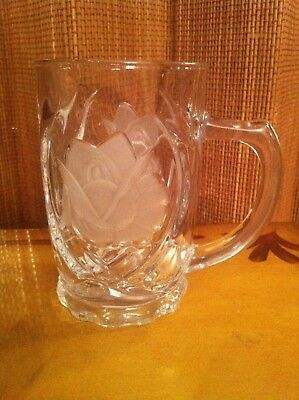 Mikasa ROSE PEARLS - Frosted Crystal Mugs