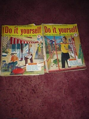 Job lot of 15 19571958 do it yourself magazines 1000 picclick uk job lot of 15 19571958 do it yourself magazines solutioingenieria Image collections