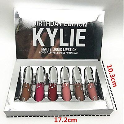 Kylie Jenner Holiday Edition Mini Matte Lip Kit Natural Liquid Lipstick Gift Set