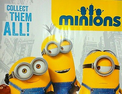 2 Collectible MINIONS POSTERS 18X24