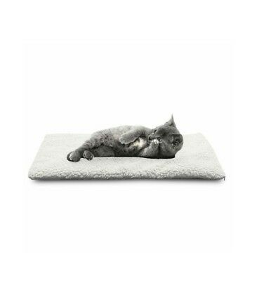 Thermal cat pet blanket - small white foil bed puppy kitten
