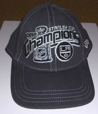 reputable site a9fff 87b09 New Era Los Angeles Kings 2012 Stanley Cup Champions Small  Medium Cap