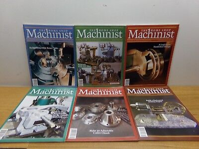 6 Magazines from 2005: Home Shop Machinist #1, #2, #3, #4, #5 #6 - FREE SHIPPING