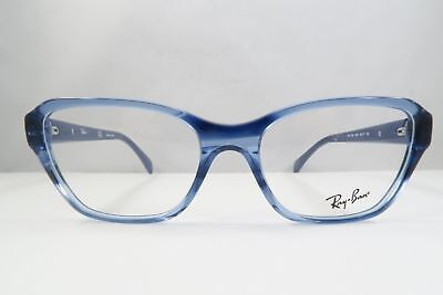 ae4c341ce41 RAY-BAN RB 5341 5572 Clear Blue New Eyeglasses 55-17-140