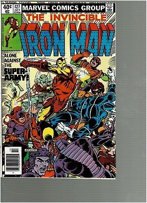 Invincible Iron Man 127  Justin Hammer Conclusion VF/NM