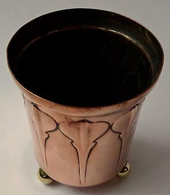 Carl Deffner Secessionist Art Nouveau Pot or Holder