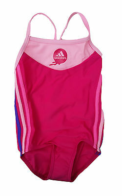 **SALE** Adidas AW 3SA INF 1PC Baby Mädchen Badeanzug Suit pink rosa