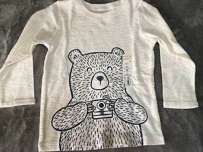 Baby Boy Jumping Beans Puffed & Stubbed Long Sleeve Graphic Tee