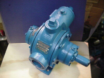 PSG Dover blackmer XRL1.25 Petroleum oil sliding vane pump w/65psi relief valve