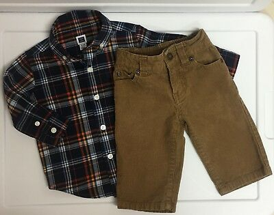 Ridiculously Cute! Baby Boy's Janie & Jack Outfit 3-6 Months VGUC