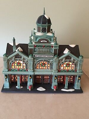 Dept 56 Christmas in the City East Harbor Ferry Terminal #59254
