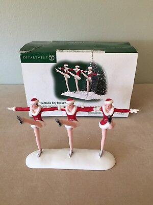 Dept 56-Christmas in the City - The Radio City Rockettes #589991