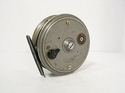 """Vintage JW Young 3 ½"""" Beaudex Fly Fishing Reel"""