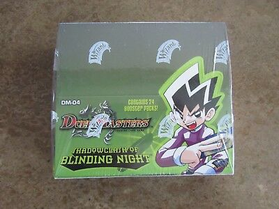 Duel Masters TCG - Shadowclash of Blinding Night Booster Box DM-04 New / Sealed