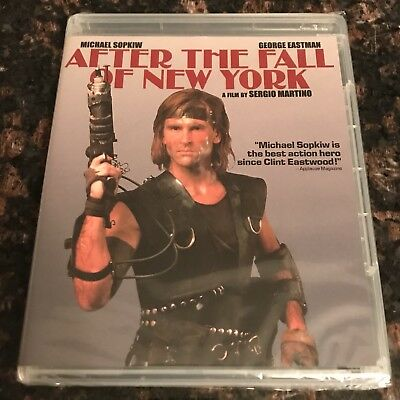 After The Fall Of New York + Great Alligator Code Red Blu-Ray Lot Sergio Martino