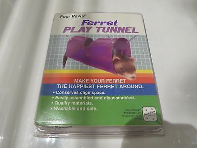 Ferret Play Tunnel  - Four Paws - Exercise & Fun For Your Fury Friend - New!
