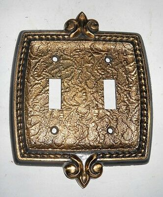 Vintage Amerock Bonaventure House Double Switch Plate Cover