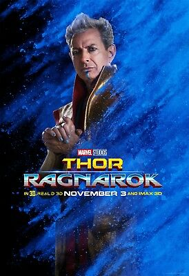 Thor Ragnarok Movie Poster (24x36) - Hemsworth, Jeff Goldblum, Grandmaster v10