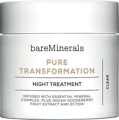 BareMinerals Pure Transformation Night Treatment - Clear 4.2g