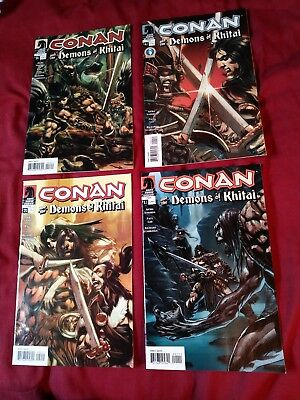 Conan and the Demons of Khitai #1 2 3 4 Conan 24 risque nude preview high grade