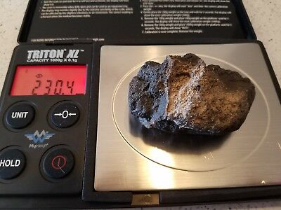 Authentic meteor and meteorites Outer Space Fossil Rock Collectible Fragment#30