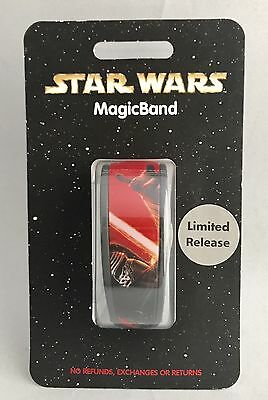 Disney Magic Band Star Wars Kylo Ren Force Awakens Limited Release Magicband 1.0