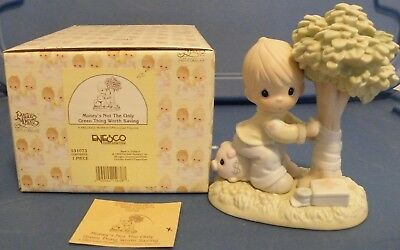 Money's not the only green worth saving Precious Moments 531073 figurine 1995 Dr