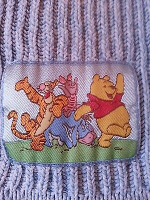 Winnie the Pooh Child's cotton sweater light blue, size 5