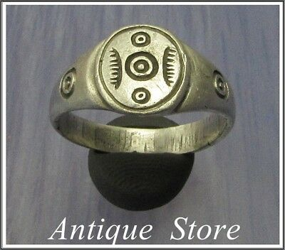 **IRON AGE**Ancient Silver CELTIC Ring  800–450 BC