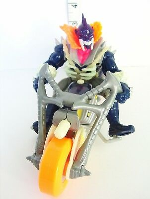 Ghost Rider Vengeance PLUS Fire Skull Stunt Cycle Vtg Marvel ToyBiz Toy Biz 1995