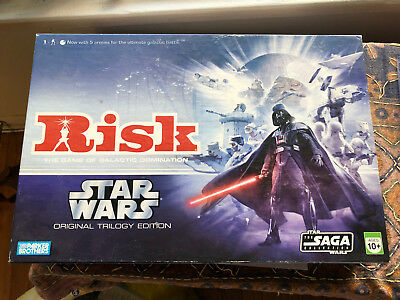 Risk Star Wars Original Trilogy Edition complete never played rare board game