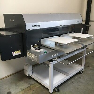 Brother GT-782 Direct to Garment printer (DTG), Lawson Pre-Treat Express, & othr