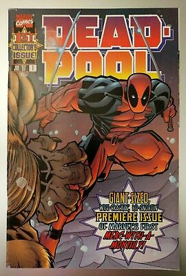 Deadpool # 1 (1997). Marvel Key Issue. First In Own Title. VF+