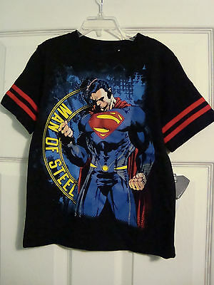 SUPERMAN   S/S T-shirt,   Size 5/6  NEW