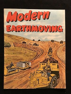 Caterpillar Tractor Modern Earthmoving Booklet