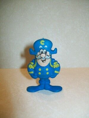 "Vintage Cap'n Crunch Collectible Toy Figure - Quaker Cereal Advertising - 2"" Toy"