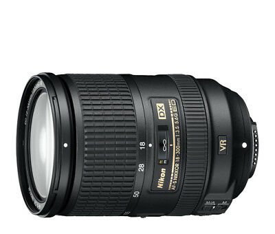 Nikon AF-S DX NIKKOR 18-300mm f/3.5-6.3G ED VR Zoom Lens New in Box!