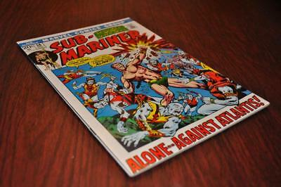 ** SUB-MARINER 56 20c NM 9.4 ATLANTIS Frame Cover GLOSSY ESTATE SALE **