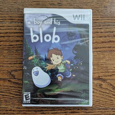 A Boy and His Blob Nintendo Wii - New / Sealed