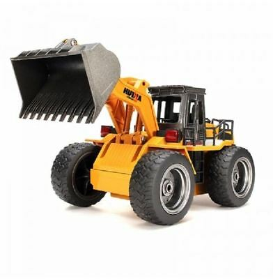 Huina 1520 Remote Control Metal Bulldozer Toy Charging 1:14, With 6 Channel RC