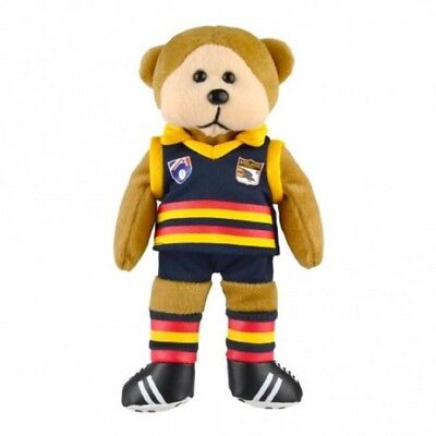 Adelaide Crows Heritage Player Bear  - Official AFL Beanie Kid 21cm